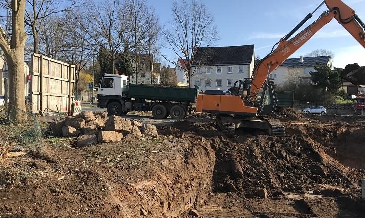 """Baubeginn der """"Wohnanlage am Wolfsgraben"""""""